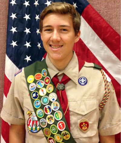 <i>Youngsville youth becomes an Eagle Scout</i>