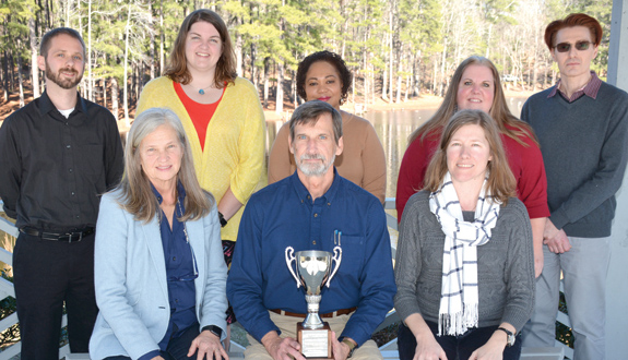 <i>VGCC English Department awarded 'Vanguard Cup'</i>