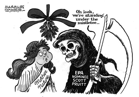 Editorial Cartoon: The EPA