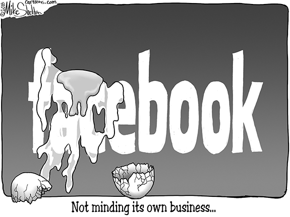 Editorial Cartoon: Facebook