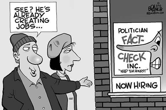 Editorial Cartoon: Fact Check