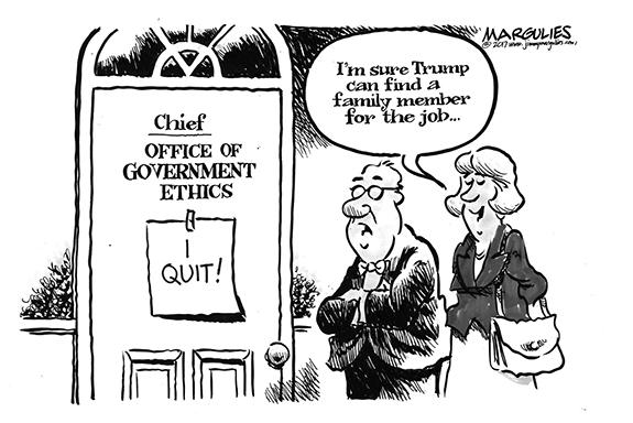 Editorial Cartoon: Family