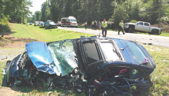 Mother killed in head-on crash; Nash man charged