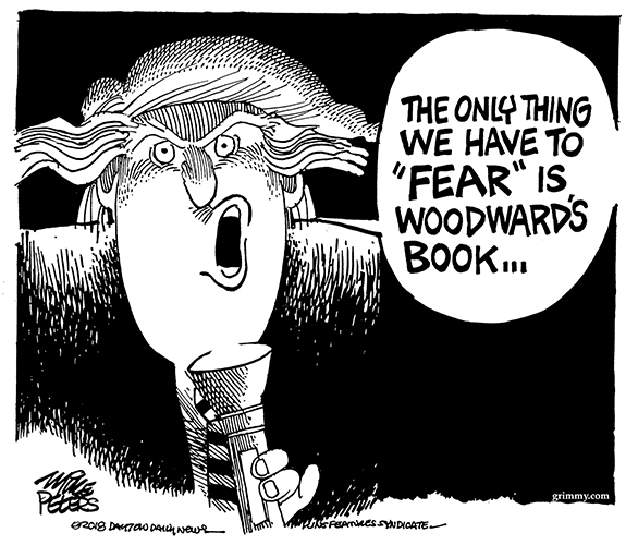 Editorial Cartoon: Fear