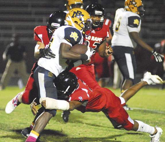 Rocky Mount Pulls Away From Red Rams