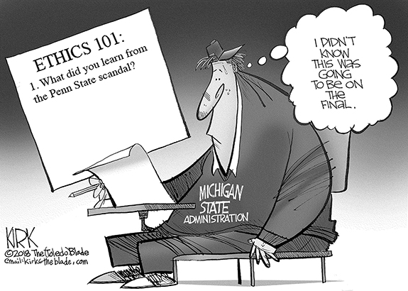 Editorial Cartoon: Final Exam