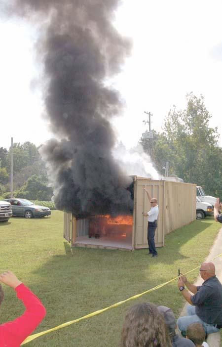 <i>Fun event stresses fire safety, pics 1</i>