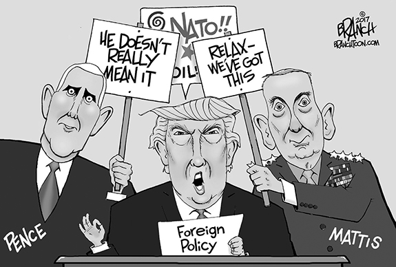 Editorial Cartoon: Foreign Policy