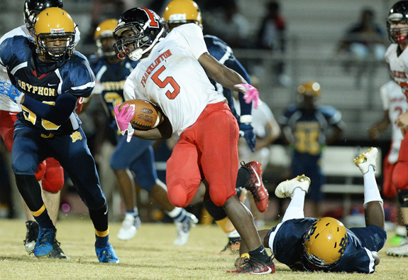 Rocky Mount Spoils Franklinton's Big East Opener