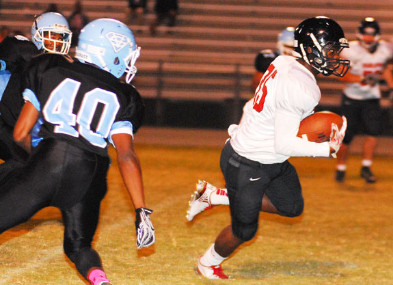 Red Rams Run Past Southern Vance