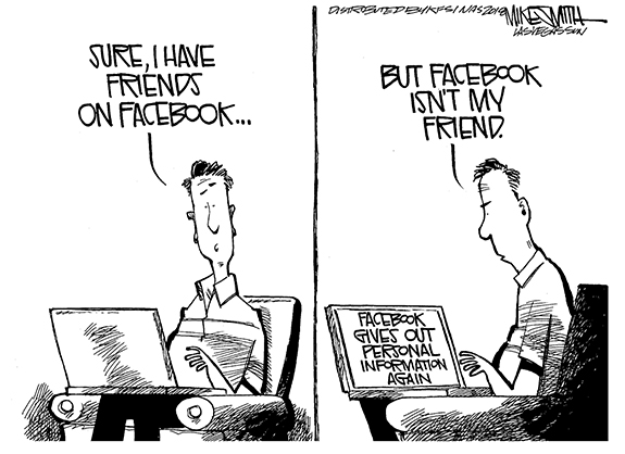 Editorial Cartoon: Friends