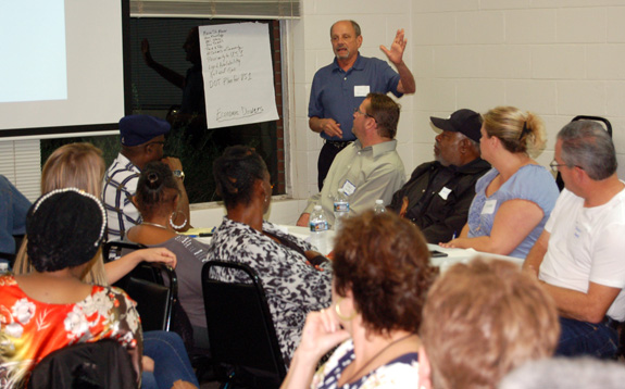 <i>Franklinton leaders foresee vibrant town</i>