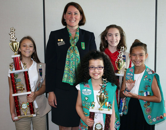 <i>Youngsville Girl Scout named one of area's best cookie sellers</i>