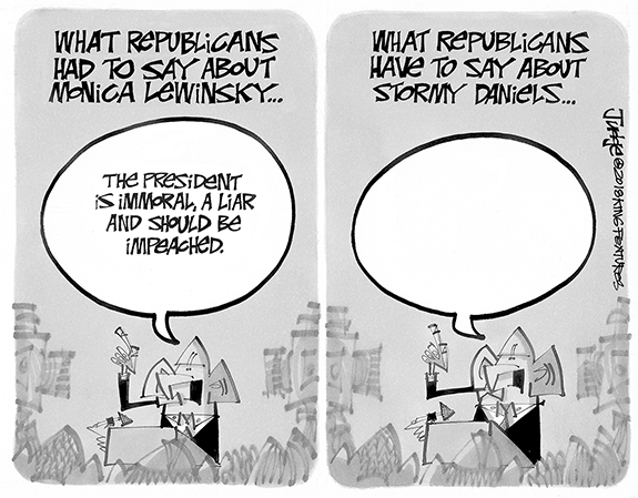 Editorial Cartoon: GOP Comments