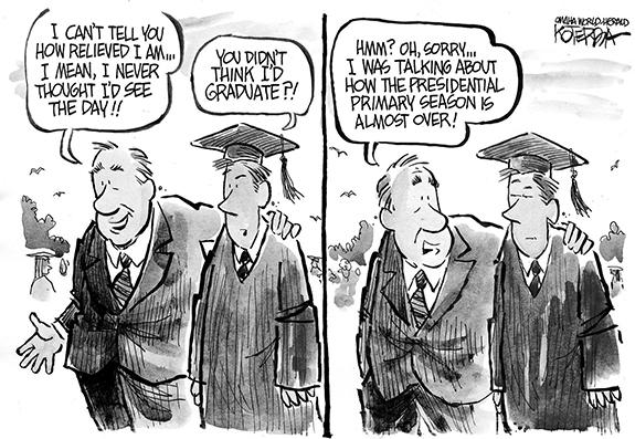 Editorial Cartoon: Graduate