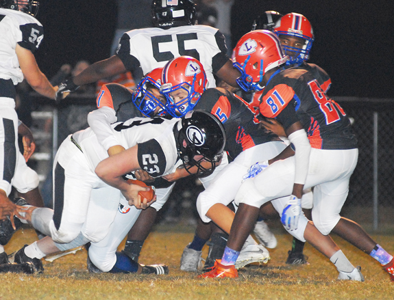 Louisburg Closes Schedule With Loss