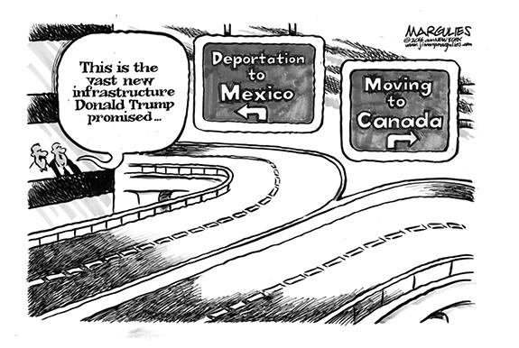 Editorial Cartoon: Highway