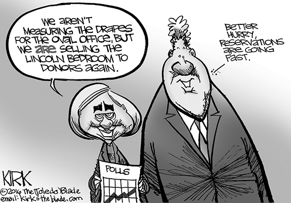 Editorial Cartoon: Hillary
