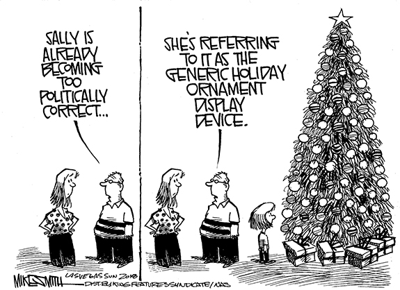 Editorial Cartoon: Holiday Tree