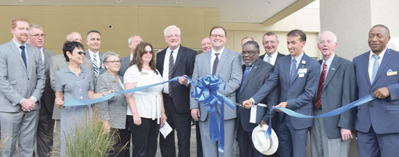 <i>Ribbon is cut but doors not YET open</i>