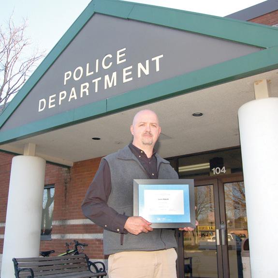 <i>Local police officer builds leadership skills</i>
