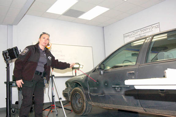 Upgraded forensics unit is ready to catch crooks