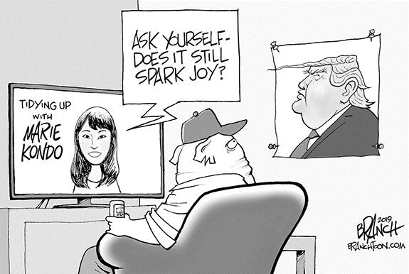 Editorial Cartoon: Joy