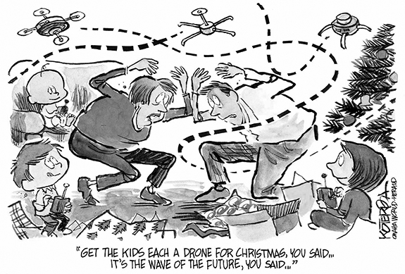 Editorial Cartoon: Kids