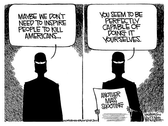 Editorial Cartoon: Killing