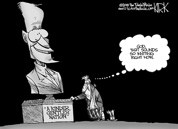 Editorial Cartoon: Kinder Nation