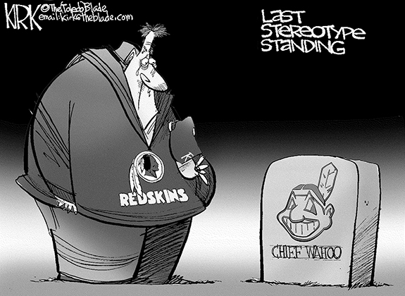 Editorial Cartoon: Last Stereotype