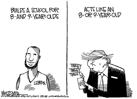 Editorial Cartoon: Lebron