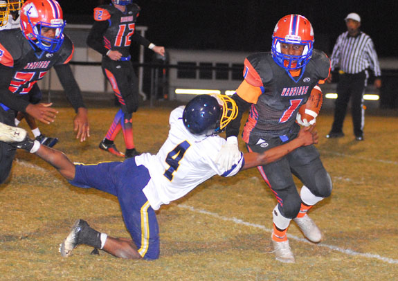 Person Piles Up Touchdowns For LHS