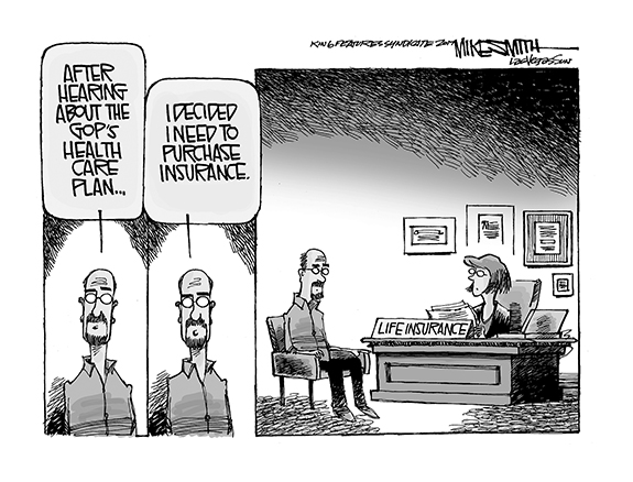 Editorial Cartoon: Life Insurance