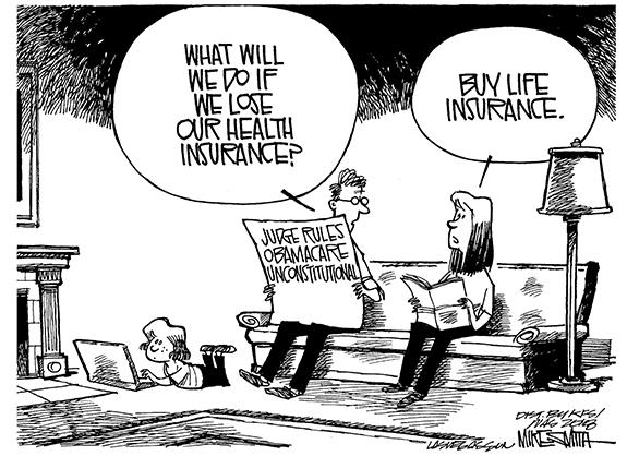 Editorial Cartoon: Life Insurance