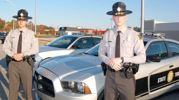 Firefighters and buddies are newest State Troopers