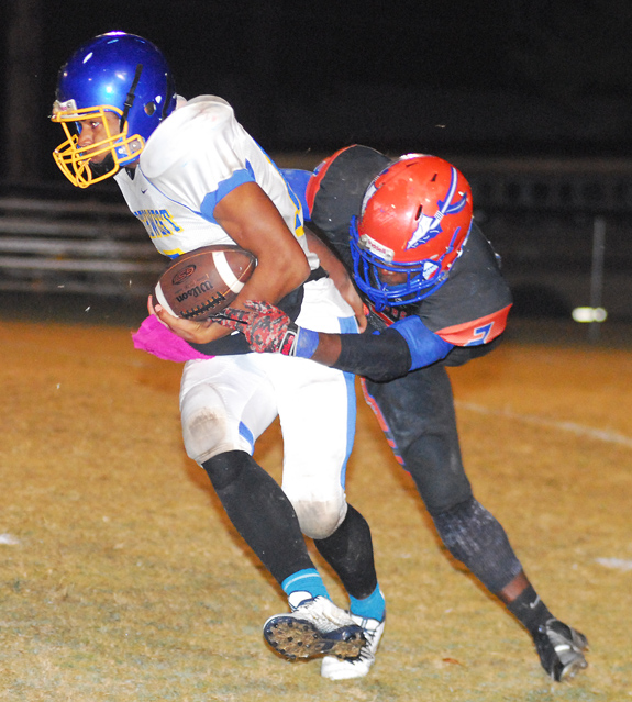 Louisburg Claims Much-Needed Victory