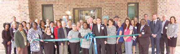 <i>Ribbon cutting opens medical clinic</i>