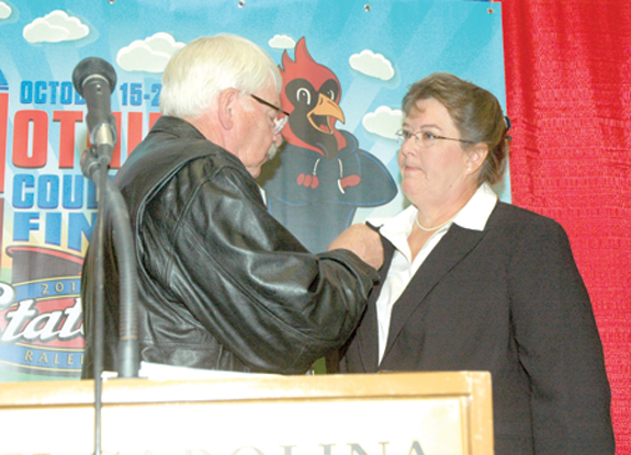 <i>Local man inducted into Livestock Hall of Fame for his life's work</i>