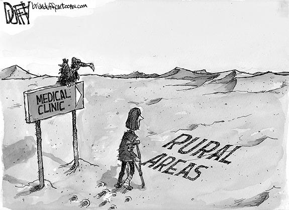 Editorial Cartoon: Medical Care