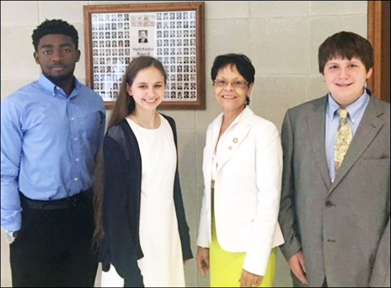 <i>County 4-H'ers attend Citizenship North Carolina Focus</i>