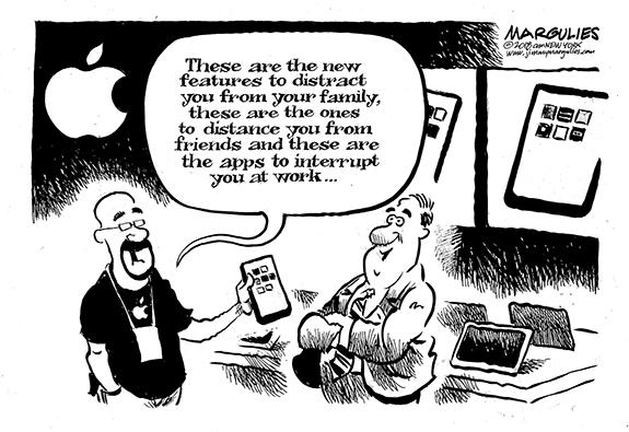 Editorial Cartoon: New Apps