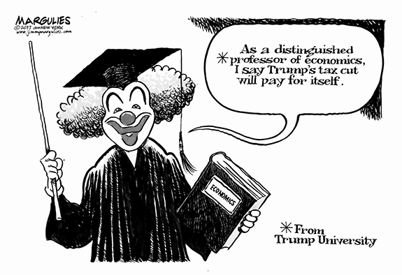 Editorial Cartoon: New Tax Plan