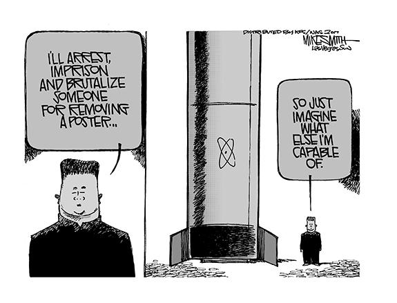 Editorial Cartoon: North Korea