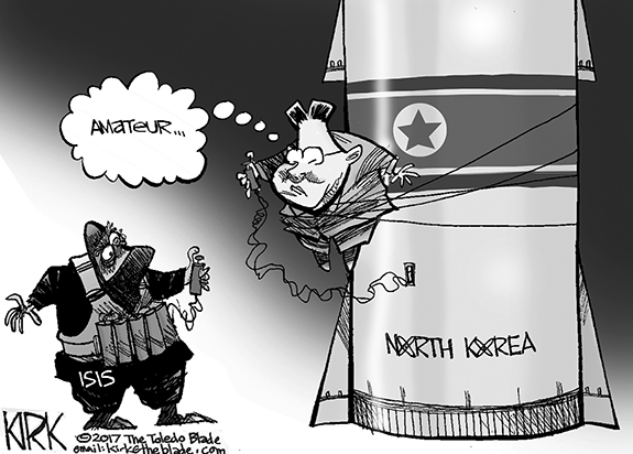 Editorial Cartoon: Amateur