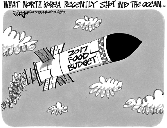 Editorial Cartoon: North Korea