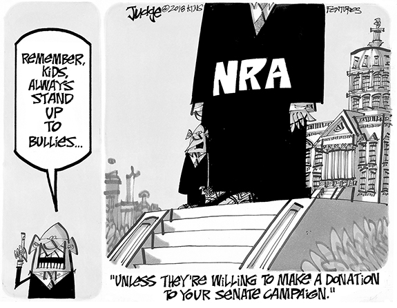 Editorial Cartoon: The NRA