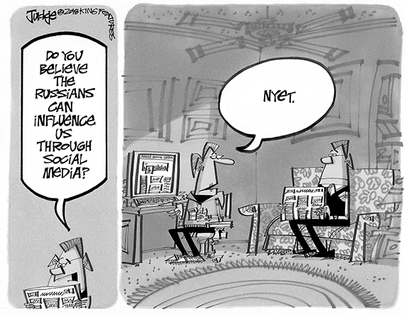 Editorial Cartoon: Nyet