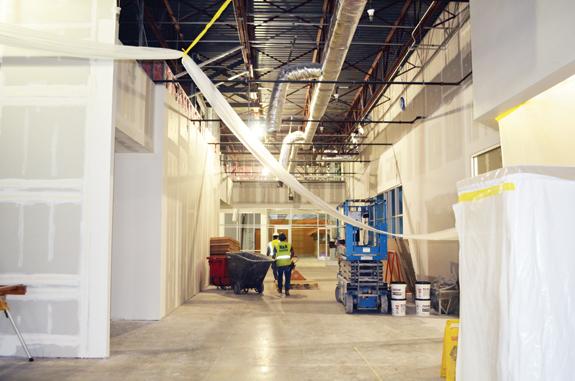 Materials delay slows project
