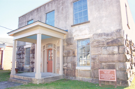 <i>Historic jail stabilized; handed back to county</i>